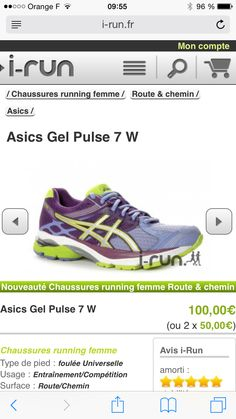 Asics pulse