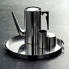 top3 by design - Stelton - Arne Jacobsen - cylinda line serving tray