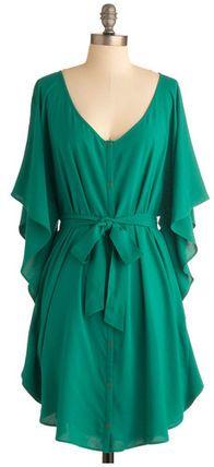 モドクロス ワンピース You and Me Forever Dress in Green