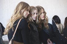 NYFW Fall 2015 - Rodarte - Kirstin Kragh Lijegren, Amalie Schmidt, and Laura Julie