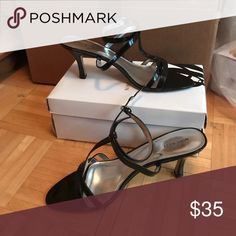 Nine West heels Small heel with delicate strapping. Nine West Shoes Heels