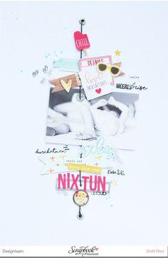 NIX TUN...neues Layout - Scrap Sweet Scrap
