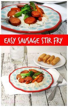 Easy Sausage Stir Fry