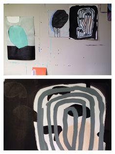 Loose Details, studio, 2014.  Sarah Boyts Yoder