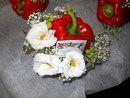 Fiori e Frutta... per un ricevimento in Villa... molto estivo!