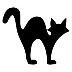 Kat - Silhouet af en kat