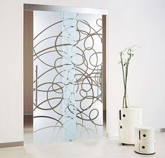 Custom Made Designer Glass Doors With Intricate Designs - Designer glass panels can make your entrances, patio doors and interconnecting doorways look elegant and stylish. But if they are plain glass panels they may