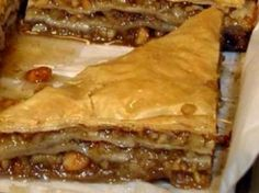 Recipes - Desserts - Cashew Baklava by Anna Olsen - Kraft First Taste Canada Made these for work, they are so good. Baklava Recipe Food Network, Food Network Recipes, Pastry Recipes, Chef Recipes, Cooking Recipes, Delicious Deserts, Yummy Food, Baklava Dessert, Dessert Tarts