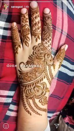 Pretty Henna Designs, Rose Mehndi Designs, Khafif Mehndi Design, Latest Henna Designs, Indian Henna Designs, Simple Arabic Mehndi Designs, Henna Art Designs, Mehndi Designs For Girls, Modern Mehndi Designs