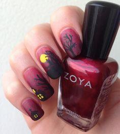 http://www.emotion-wizard.com/2013/10/nailstorming-halloween.html #Halloween #nails #nail art