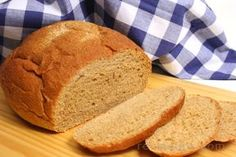 Anadama Bread - a traditional bread of New England in the United States made with white flour, cornmeal, molasses and sometimes rye flour.