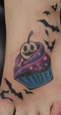 50 Awesome and Creepy Halloween Tattoos