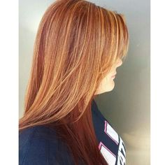 Warm copper blondes done by Ashley #seasonssalon #balayage #colorexpert #color #blonde #weave #lp #lorealpro