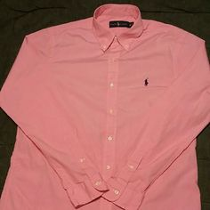 Polo Ralph Lauren Polo Ralph Lauren Dress shirt, men's medium, long-sleeved, great for casual wear or to dress it up.  All sales are final, no trades. Polo by Ralph Lauren Tops Button Down Shirts