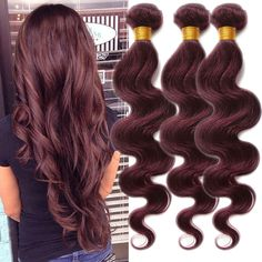 Fashion new 50g/Bundle 99J High Quality Body Wave Human Hair Extension Remy Weft