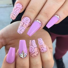 """Guess who came to work today!?!? Gaby! Oh how I miss her beautiful nails!! She'll be at work this sat. She has one appointment left for 5:30. Text me if…"""