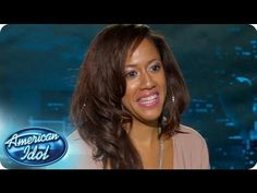 """Tenna Torres had actually met judge Mariah Carey when she was a teen at the famous """"Camp Mariah"""". Watch as Tenna gets the opportunity to meet, and perform for, her idol a second. #idol #idolauditions #idolNewYork"""