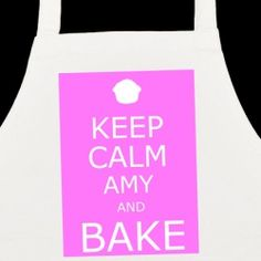 £5.99 Personalised Keep Calm and Bake Apron