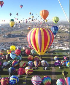 Love to watch the Hot Air Balloon Festival in my state each summer!
