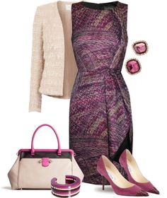 """Purple & Vanilla"" by yasminasdream ❤ liked on Polyvore"