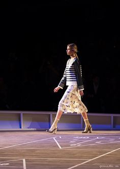 A Nautical Journey ... with Tommy Hilfiger / FW16 Fashion Show / Garance Doré