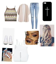 """First day of school outfit"" by valerierd on Polyvore"