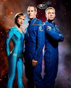 T'Pol, Archer and Trip - star-trek-enterprise Photo