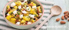 quinoa met geroosterde bloemkool