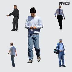 ZENT Design 2D: PEOPLE PNG - 001-150