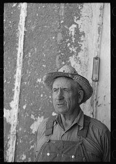 Mr. Tronson, farmer near Wheelock, North Dakota. Lee, Russell, 1903-1986, photographer