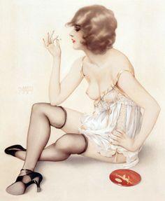 Smoke Dreams, Alberto Vargas 1927