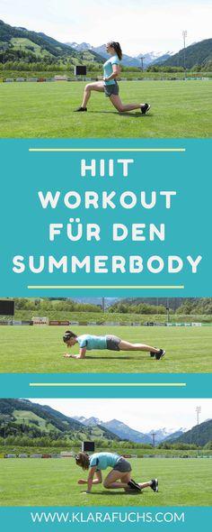 HIIT WORKOUT für draußen! Trainiere in der Natur und werde fit für den Sommer! Trainiere draußen für den Summerbody. HIIT-Workouts sind effektiv, gehen schnell und machen Spaß! Lass uns zusammen fit für den Sommer werden! :-)