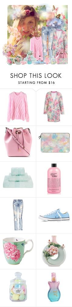 """""""Untitled #2219"""" by tina-teena ❤ liked on Polyvore featuring Michael Kors, Bastien, Casetify, Yves Delorme, philosophy, Tortoise, Converse, Franz Collection and Anna Sui"""