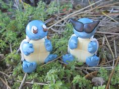 Pokemon Inspired Clay Model Squirtle Regular and by TheTallGrass, $12.00