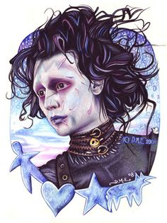 tim burton art | The Tim Burton Fan Art Of Donna Marie Evans - Mindhut - SparkNotes