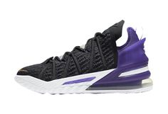 Purple Sneakers, Casual Sneakers, Casual Shoes, Sneakers Nike, Nike Lebron, Purple Socks, Nike Air Jordan Retro, Running Shoes For Men, Basketball Shoes