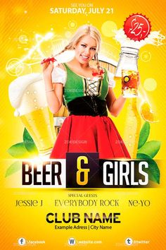 Free Beer and Girls Flyer PSD Template - http://freepsdflyer.com/free-beer-and-girls-flyer-psd-template/ Enjoy downloading the Free Beer and Girls Flyer PSD Template created by Zokidesign  #Bar, #Beer, #Dance, #Disco, #Dj, #Electro, #Event, #Music, #Nightclub, #Party, #Pub, #Summer, #WorldMusic