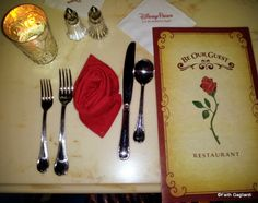 Review -- Dinner at Be Our Guest Restaurant in Magic Kingdom