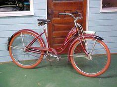 Vintage Bicycles, 1940s, Bike, Painting, Schwinn Bikes, Bicycle, Painting Art, Bicycles, Paintings