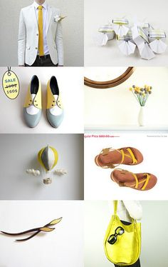 Yellow gift guide by Stavri on Etsy--Pinned with TreasuryPin.com