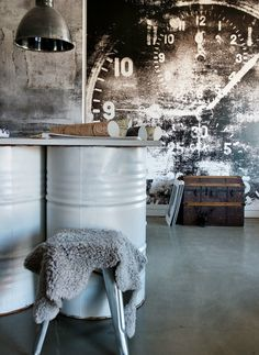 Studio of Scandinavian Wallpaper & Décor. Photography Jody Darcy. wallpaper murals from www.wallpaperdecor.com.au