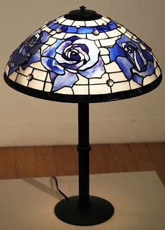 Stained Glass Christmas, Stained Glass Lamps, Tiffany Lamps, Glass Ornaments, Master Bedroom, Table Lamp, Glasses, Create, Inspiration