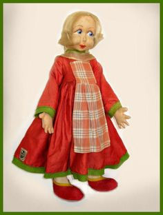 Becassine doll by Raynal.