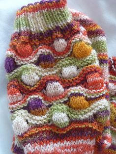 Bremen Bobble Socks pattern.