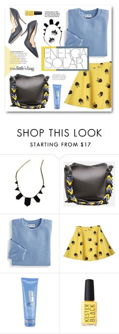 """""""Very Very Very (IOI)"""" by miryoserra ❤ liked on Polyvore featuring Blair, Paul Andrew, Magdalena, Clinique and Fallon"""