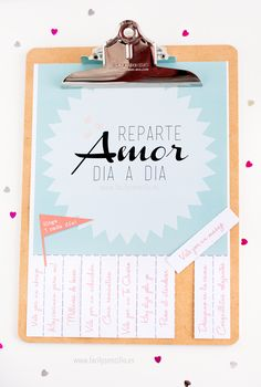 Free Valentine's Day Printables in Spanish