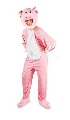 Deguisement du cochon rose