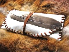 Medicine Bag, Bundle, Pouch, Wrap, Tobacco Pouch, Offering Bag, Leather, Keep safe your Sacred items.