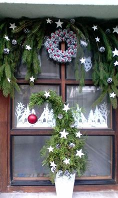Holiday Wreaths, Christmas Decorations, Holiday Decor, Advent, Projects To Try, Home Decor, Craft, Decoration Home, Room Decor