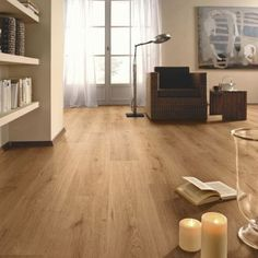Oak Plank Effect Laminate Flooring, 5397007045208